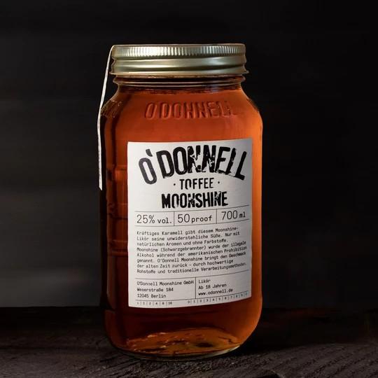 O'Donnell Toffee (Karamell) • 25%vol. • 0,7l