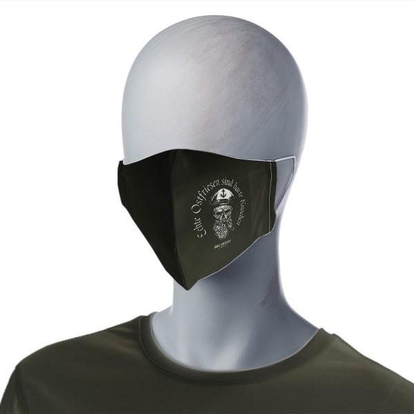 Mund-Nasen-Maske - Echte Ostfriesen sind harte Knochen
