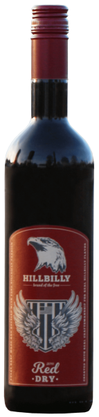 HILLBILLY 2016 Red, Dry Whine • 12,5%vol. • 0,75l