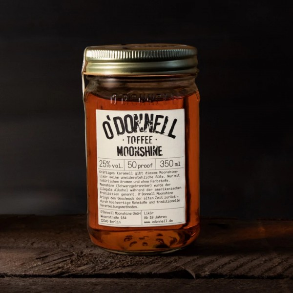 O'Donnell Toffee (Karamell) • 25%vol. • 0,35l